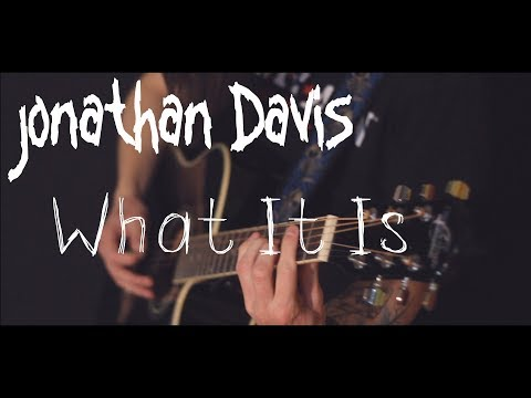 Jonathan Davis (Korn) - What It Is (acoustic guitar / piano / vocal cover by Dmitry Klimov)
