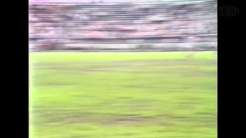 Редкое видео Абдулов Караченцов Янковский - судит матч Владимир Кейлин. Футбол Самара 1984 год