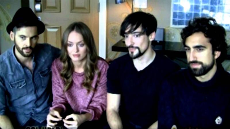 Da Vinci's Demons cast interview - 2014 NYCC