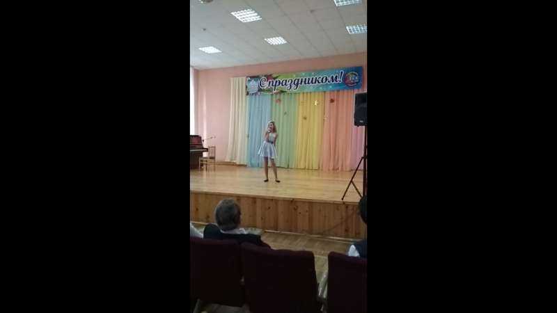 Съезд учителей-ветеранов в 1-ой школе г.Новополоцка