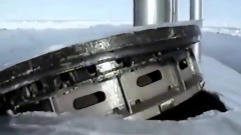 Запуск Акулой баллистической ракеты Р-39(SS-N-20) в Арктике. Неожиданно