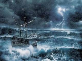 Вечер, лодка, середина моря. Василий Немеш