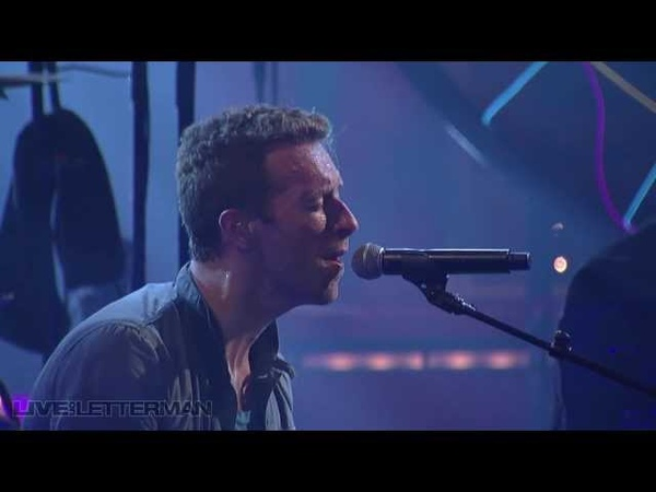 Coldplay Fix You Live on Letterman