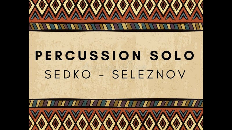 Percussion solo by Eugen Sedko dohola and Alexandr Seleznov cajon
