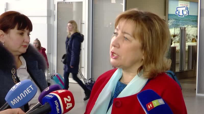 Крым принимает детей из Башкирского Сибая