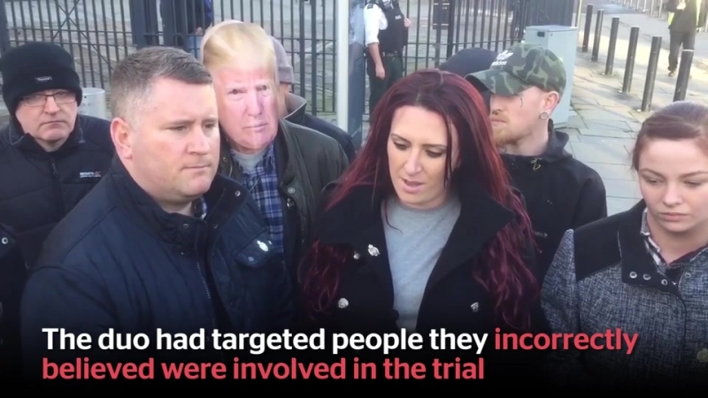 Tommy Robinson arrested for 'breaching the peace' outside court during grooming trial
