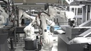 Assembly cell at Husqvarna - 2 SVIA MiniFlex and 6 ABB robots