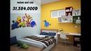 BÁO GIÁ thiết kế thi công nội thất chung cư 70m2 9X Interior