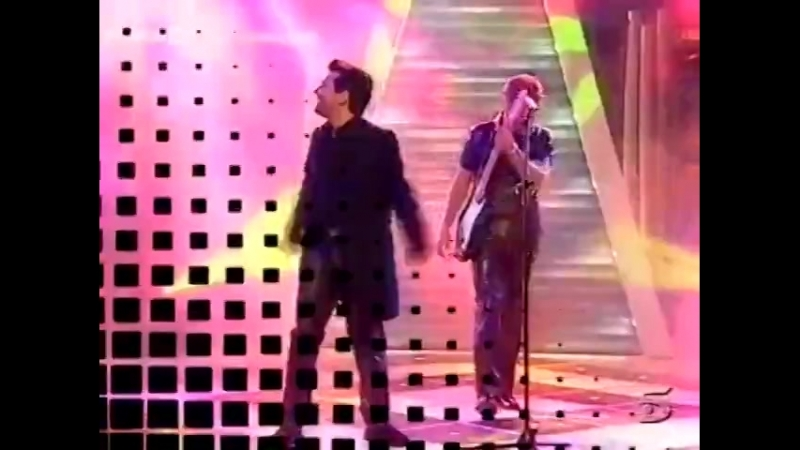 Modern Talking - You Are Not Alone (TeleCinco Cronicas marcianas, 02.03.1999) MTW