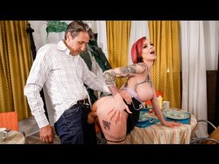 Anna bell peaks - dirty grandpa part 3 (blowjob, big tits, hardcore, pornstar, brunette, tattoo)