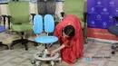 Обзор ортопедического детского кресла без подлокотников DR-218A из экологически чистых материалов