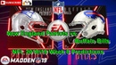 New England Patriots vs. Buffalo Bills | NFL 2018-19 Week 8 | Predictions Madden NFL 19