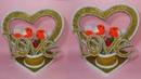 How to make showpiece crafts with cardboard gift itam showpicee dustu pakhe
