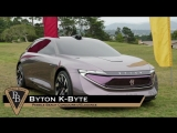 The Byton K-Byte Debut the Pebble Beach