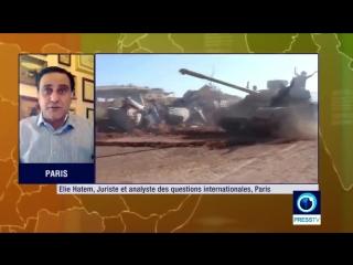 Elie Hatem : L'Empire Américano-sioniste prospère sur le chaos ! (1min40s)