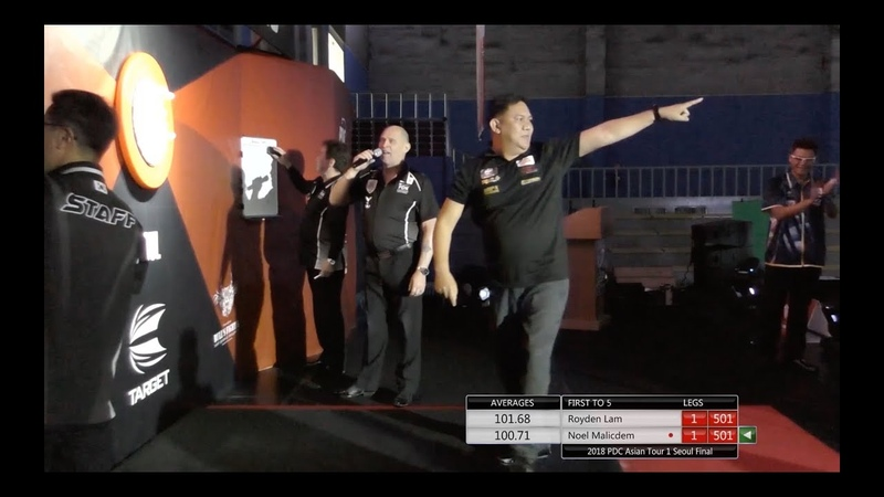 HD Video First 9 Darts of PDC Asian Tour, probally also FIRST 9 darts of ALL Asia live matches.