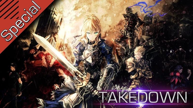 「AMV」FateZero -Takedown (Thanks for 70 Subs) 2014