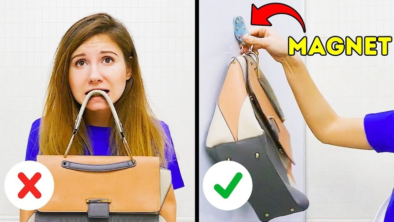 23 HACKS THAT WILL MAKE EVERY GIRL'S LIFE SO MUCH EASIER