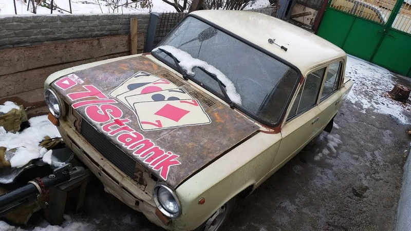 РИСУЕМ на капоте авто РЖАВЧИНОЙ и КРАСКАМИ - дрифт-корч своими руками!