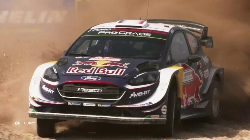 WRC - Rally Italia Sardegna 2018 M-Sport Ford WRT Sunday Recap