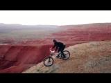 Almaty Boguti mountains bike adventure Part 2 The coolest downhill on Mars DJIMavic drone video
