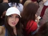Юлия на концерте