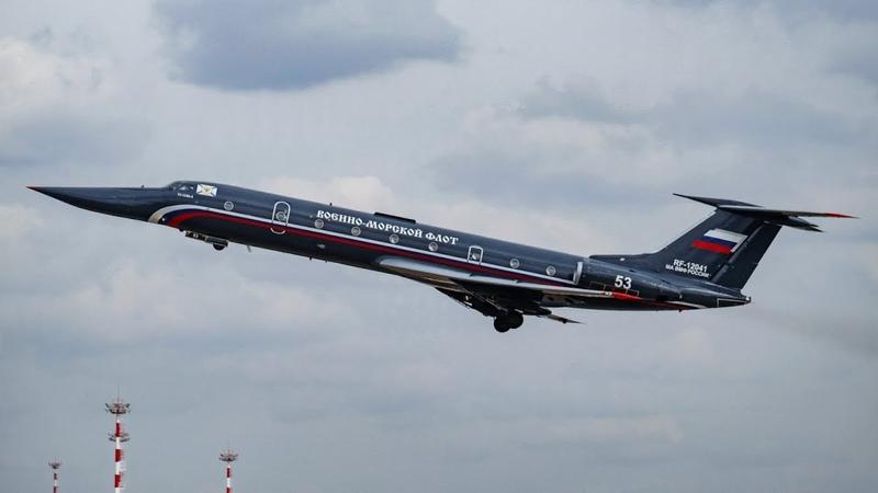 RF-12041 Ту-134A-4. Черная Жемчужина ВМФ России. Облет после ремонта.