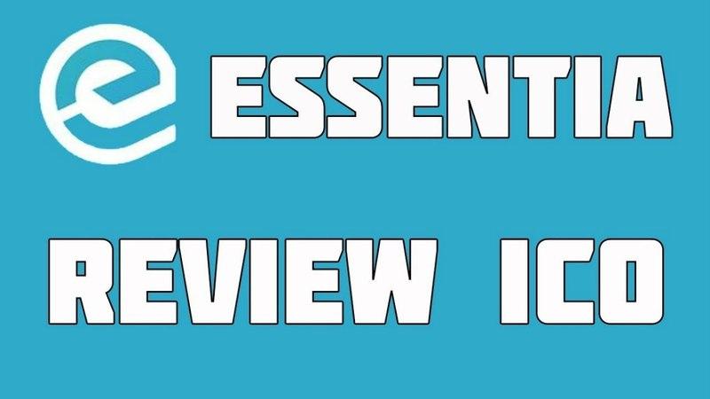Essentia ICO обзор платформа для управления данными.