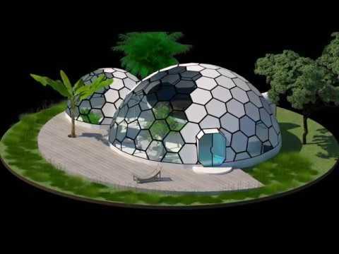 Dome House - Ceti Dome Eco House - Futuristic Home Design