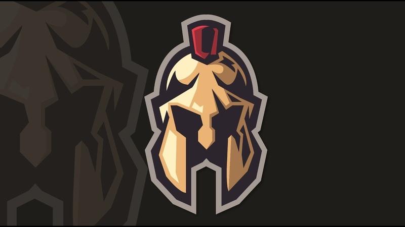 Spartan Mascot Logo Design Illustrator Tutorial