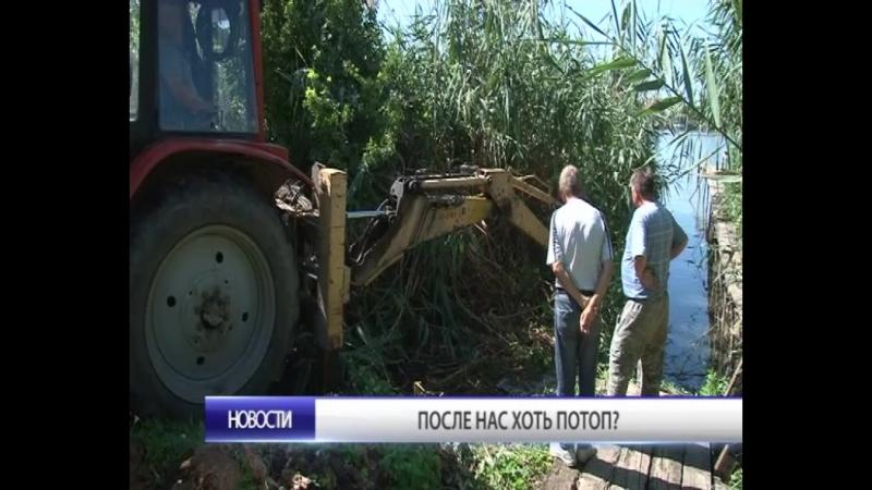 В Тимашевске ремонтируют и прокладывают ливневые канализации