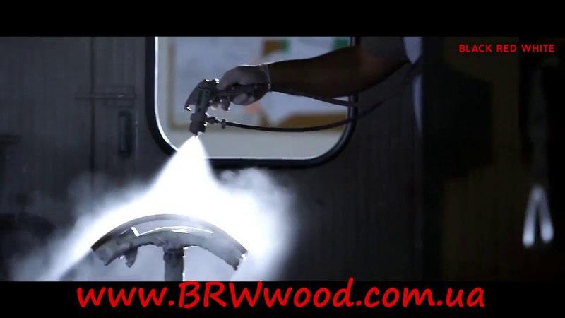 Как делают мебель глянец , BRW, Black Red White.