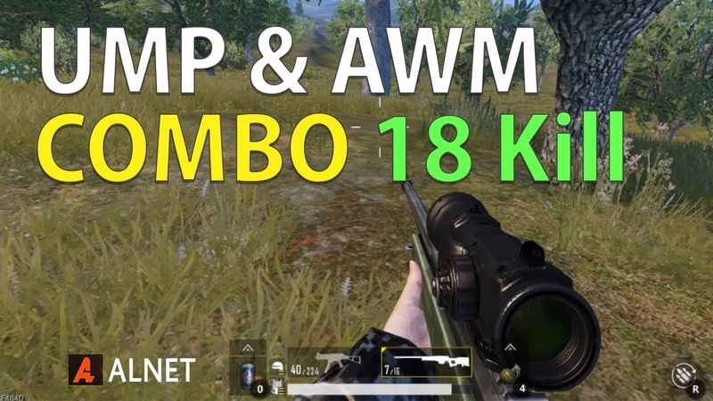 UMP AWM Combo 18 Kill - Duo PUBG Mobile PC Indonesia Gameplay
