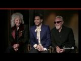 Queen and Adam Lambert interview for V I R G I N RADIO ITALY, _Queen arriving in Italy_ (480p)