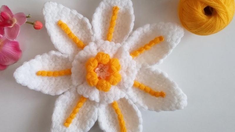 Davet çiçeği lif modeli