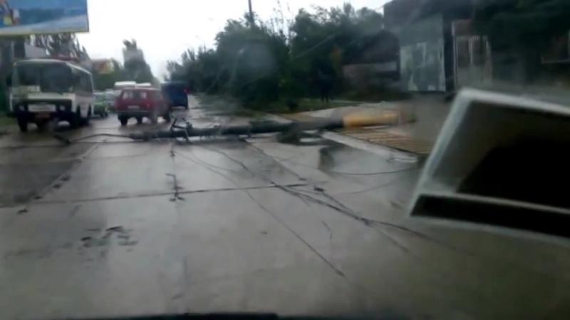 Ураган в Бердянске - 24.09.2014 - Шторм и Ураган в Бердянсе, Запорожье, Украина_HD.mp4