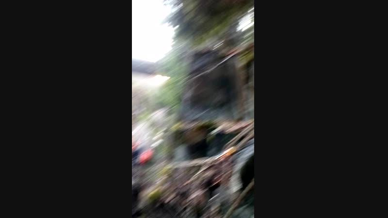 Импилахти удаление опасных камней над ЖД пром альп