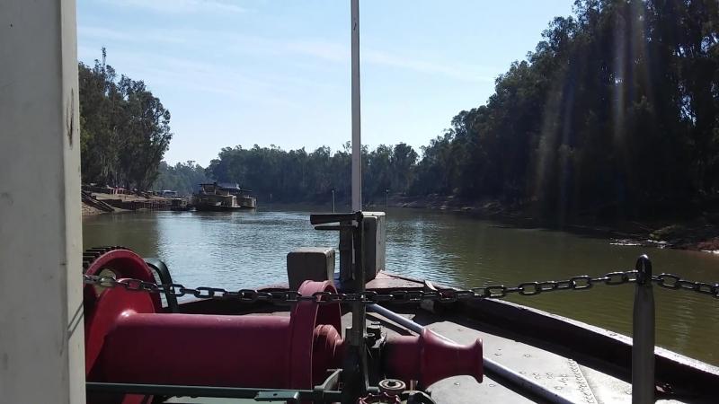Pevensey Melbourne Paddle Steamer on Murray River 1, Victoria, Australia