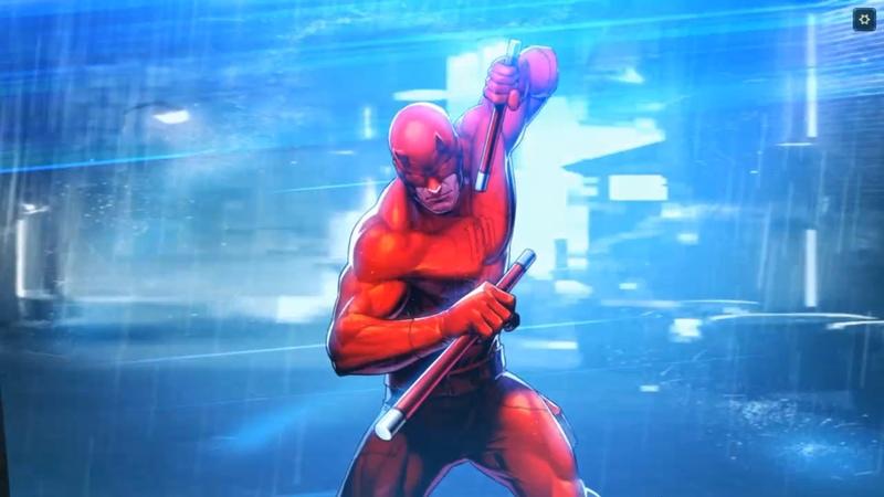 Marvel Battle Lines - Daredevil Battle