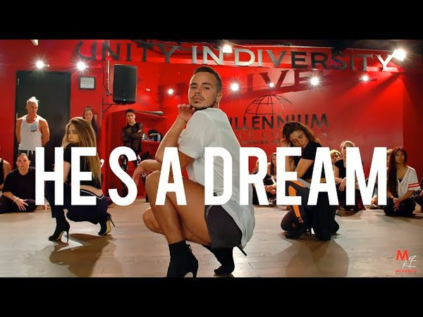 YANIS MARSHALL HEELS CHOREOGRAPHY HES A DREAM SHANDI. FLASHDANCE. FEAT JADE CHYNOWETH.