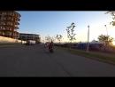 [Андрей Скутерец] Разорвало колесо на скутере, стантим с подписчиками, встряли на сломанной машине в Сочи