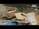 Селяне прячут мусор от коммунальщиков