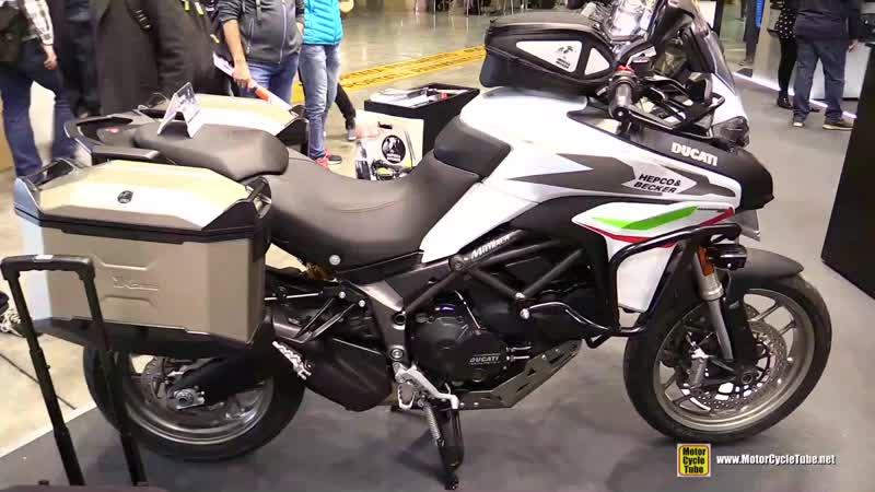 2018 Ducati Multistrada 950 Hepco and Becker Customized - Walkaround - 2017 EICMA Milan