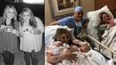 Zwillinge gebären am selben Tag Als der Arzt die Babys sah fehlten ihm die Worte