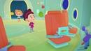 Четверо в кубе Космическое испытание Российские мультфильмы для детей серия 12