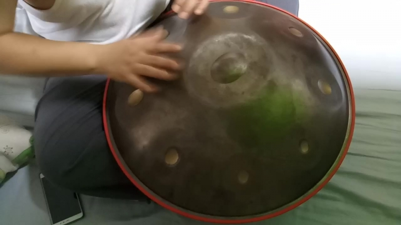 Play Handpan Daily practice(Cell phone video)