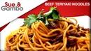 Beef Teriyaki Noodles Recipe
