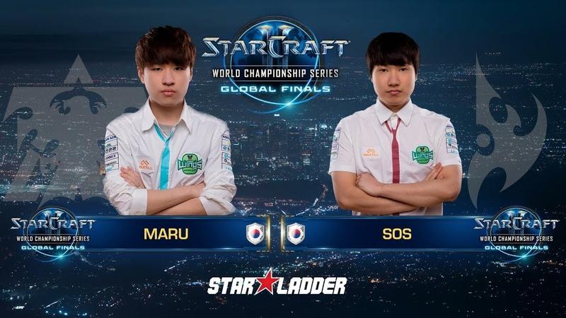 2018 WCS Global Finals Ro8 Match 1: Maru (T) vs sOs (P)
