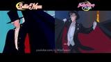 Crystal vs Original Tuxedo Mask helps Sailor Moon