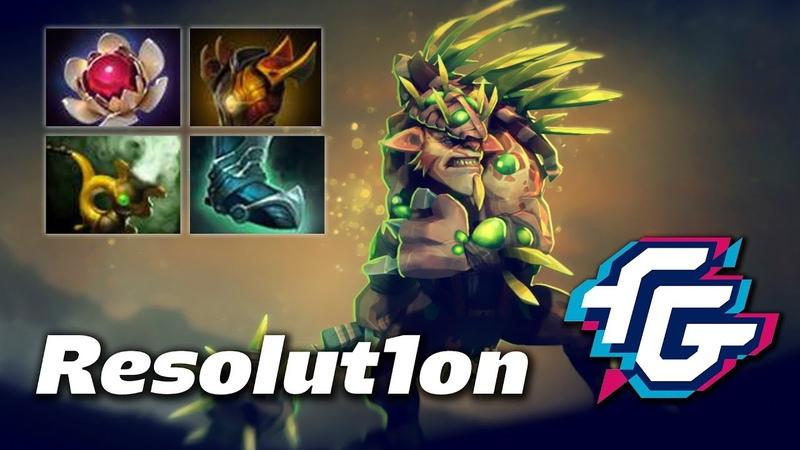 Resolut1on Bristleback   Forward Gaming   Dota 2 Pro Gameplay